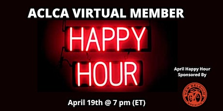 Virtual ACLCA April Happy Hour! tickets