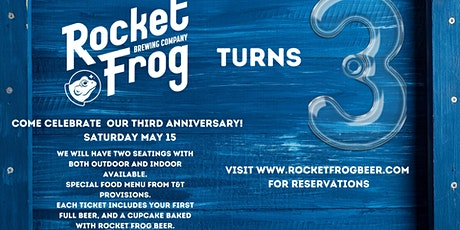 Rocket Frog 3rd Anniversary tickets