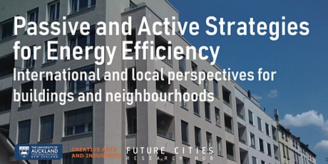 Passive and Active Strategies for Energy Efficiency tickets