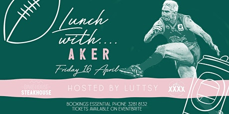 Lunch with Aker tickets