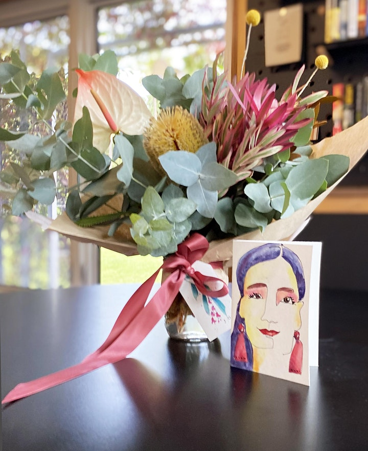 Make Your Own Mother's Day Bouquet and Watercolour Gift Card image