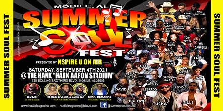 SUMMER SOUL FEST PRESENTED BY IRVMIKA AND NSPIRE U ON AIR tickets