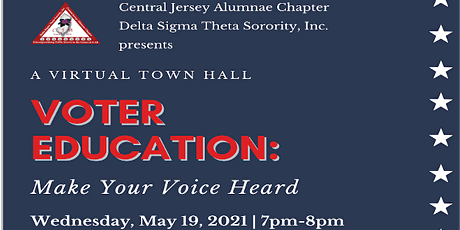 Voter Education: Make Your Voice Heard...A Virtual Discussion tickets