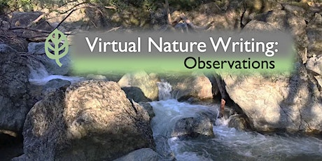 Virtual Nature Writing: Observations tickets