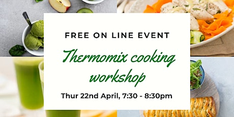Thermomix Virtual Cooking Experience tickets