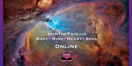 Free Online MeWe Fair for Energizing Body Mind Heart Soul tickets