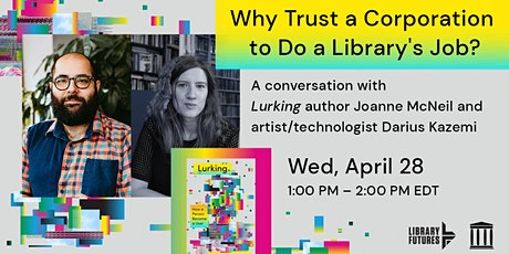 Why Trust A Corporation to Do a Library's Job? tickets