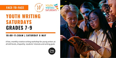 Youth Writing Saturdays: Grades 7-9 tickets