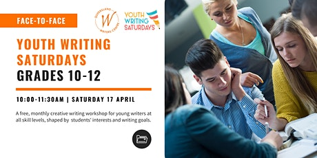 Youth Writing Saturdays: Grades 10 -12 tickets
