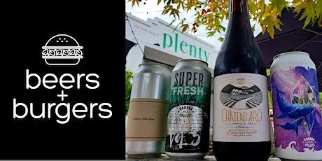Beers & Burgers @ Plenty #9 tickets
