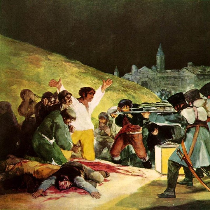 "Francisco de Goya  ""the first of the moderns."" Online Masterclass. image"