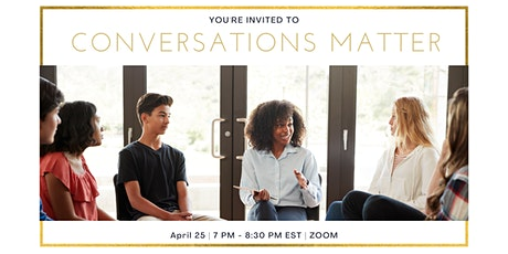 Conversations Matter tickets