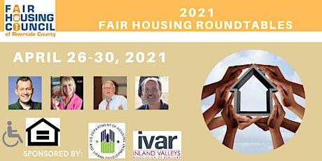 Virtual Fair Housing  Roundtables tickets