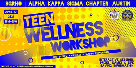 Teen Wellness Workshop tickets