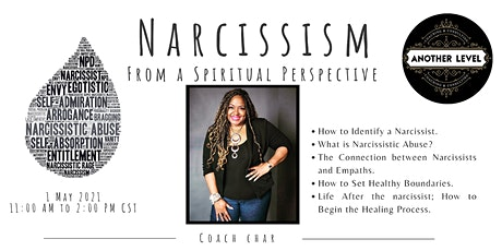 Narcissism, From a Spiritual Perspective tickets