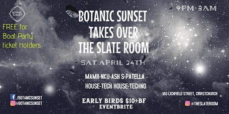 Botanic Sunset takes over The Slate Room tickets