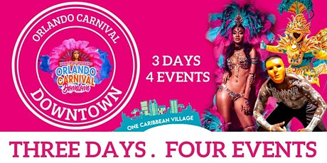 Orlando Carnival Downtown Weekend tickets