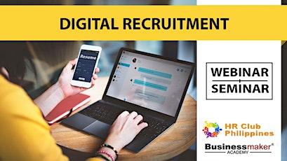 Live Webinar: Digital Recruitment Management Tickets