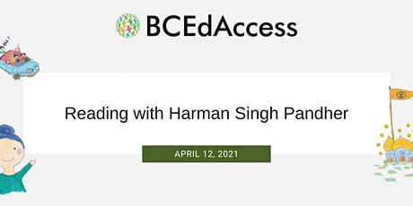 Reading with Harman Singh Pandher tickets