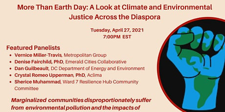 More Than Earth Day: Climate & Environmental Justice Across the Diaspora tickets