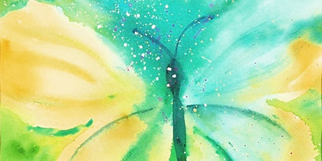 Watercolors Art Class for Teens and Adults tickets