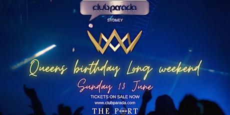 Club Parada Sydney Sun 13 June tickets