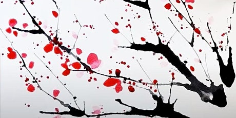 Cherry Blossom Branches, Watercolor Art Class for Teens and Adults tickets
