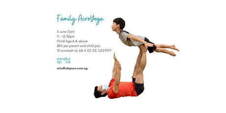 Family AcroYoga (Parent and Child) Workshop tickets