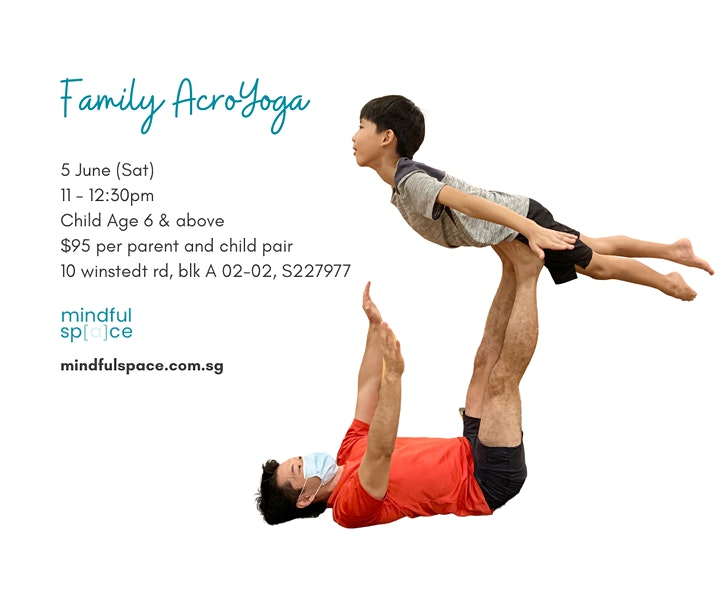 Family AcroYoga (Parent and Child) Workshop image