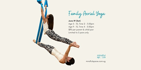 Family Aerial Yoga (Parent & Child) Workshop tickets