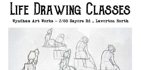 Life Drawing Class : Pencil and Charcoal Drawing ~ Beginners to experienced tickets