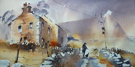 a countryside landscape:  watercolours with Trevor Lingard tickets