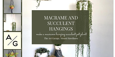 Make your own macrame plant hanger tickets