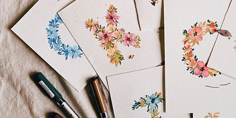 Floral Letters with Karin Brushmarkers Workshop tickets