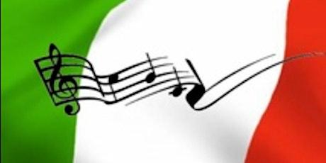 "Exploring Broadway: Tuneful ""Italia!"" tickets"