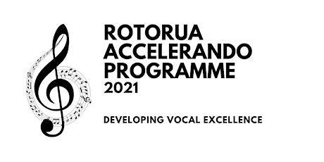 Rotorua Accelerando 2021 sharing of the work tickets