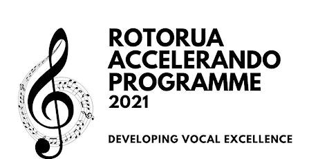 VIP concert Rotorua Accelerando Programme 2021 tickets