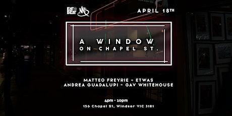 Eat The Beat : A Window on Chapel Street tickets