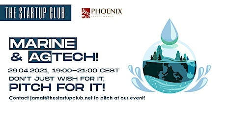 Marine & AgTech Pitch Night tickets