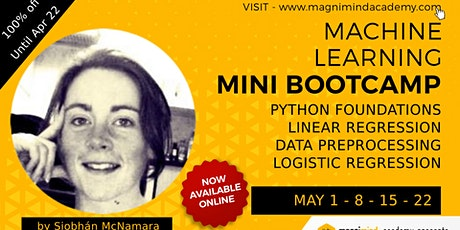 Free - Online - Live 8 Hours Machine Learning Bootcamp tickets