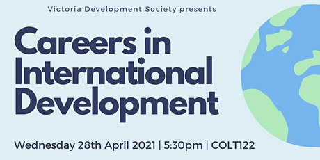 Careers in International Development tickets
