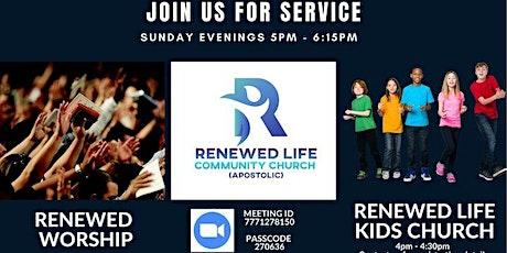 RLCCA Sunday Service tickets