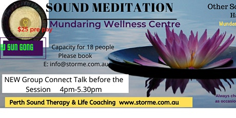 Sound Meditation tickets