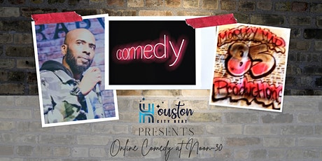 Online Comedy Event Featuring Houston Comedian Marley Mar! tickets