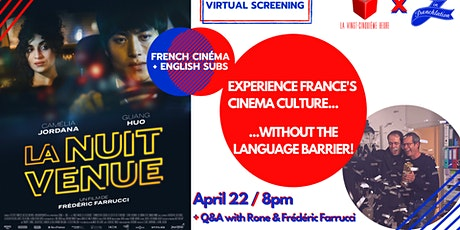 La Nuit Venue + Q&A with the director and music composer! tickets