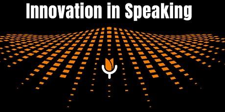 Innovation in Speaking 2022 tickets