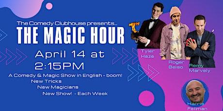 The Magic Hour - English Comedy & Magic in Barcelona entradas
