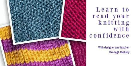 Learn to read your knitting with confidence tickets
