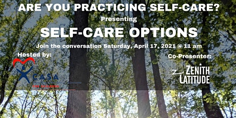 SELF-CARE OPTIONS tickets