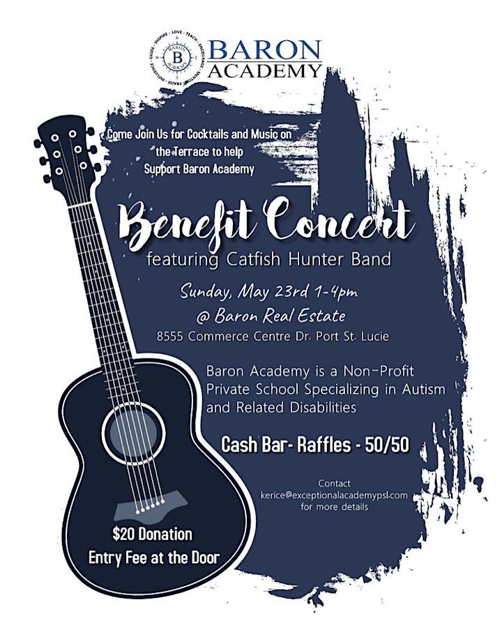 Baron Academy Concert & Cocktails Fundraiser image